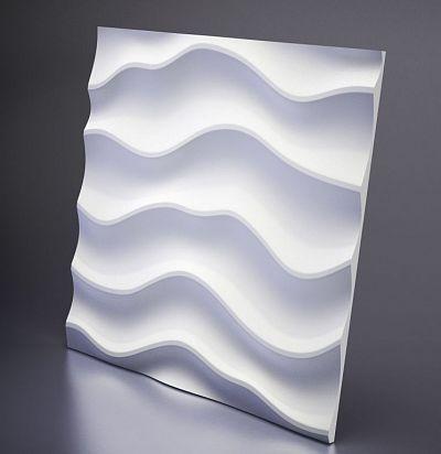 D-0003-1 3D  Sandy-1 Дизайнерская панель из гипса ARTPOLE