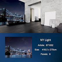Фото: Обои KT Exclusive Metropolis 871052 NY Lights- Ампир Декор