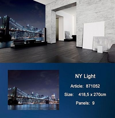 Обои KT Exclusive Metropolis 871052 NY Lights KT Exclusive