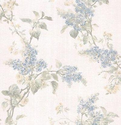 обои с голубой сиренью CD002529 Chelsea Decor Wallpapers