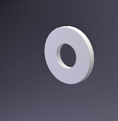 E-0015 3D  Disk-zero Дизайнерская панель ARTPOLE