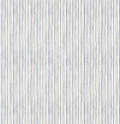 портьерная английская ткань Elm Cream / Blue Voyage Decoration