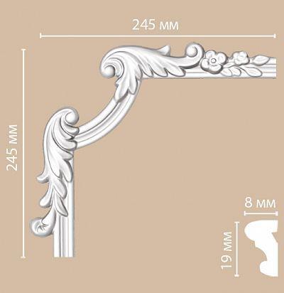 Лепнина из полиуретана 97100-3L/50 Decomaster