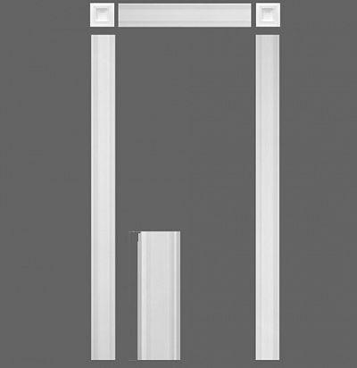 Дверное обрамление из дюрополимера (комплект) KX001 ORAC DECOR