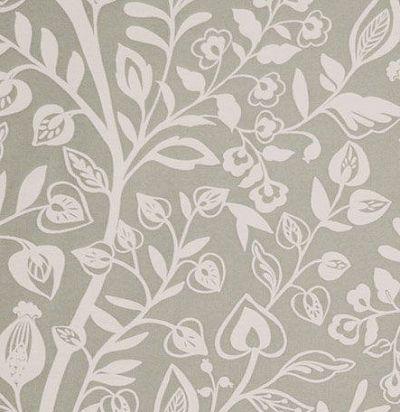 ткань с растительным орнаментом Harlow Sand Voyage Decoration