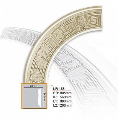 LR 168 Розетка Декоративный элемент Зерн