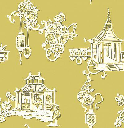 Обои Sketch Twenty3 Pagoda MH00424 SketchTwenty3