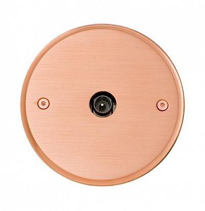 Sphere 84x84 мм Cuivre Розетка из латуни L'artisan