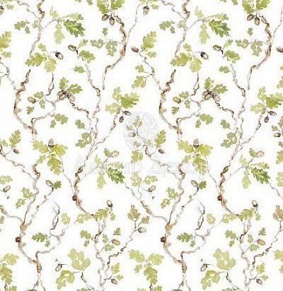 портьерная английская ткань Trailing Oak Cream Voyage Decoration