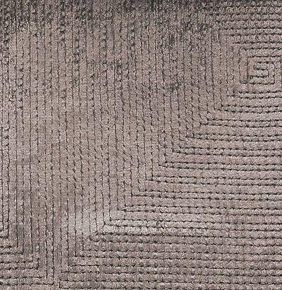 Обивочный бархат с геометрическим узором Prisma Birch Voyage Decoration