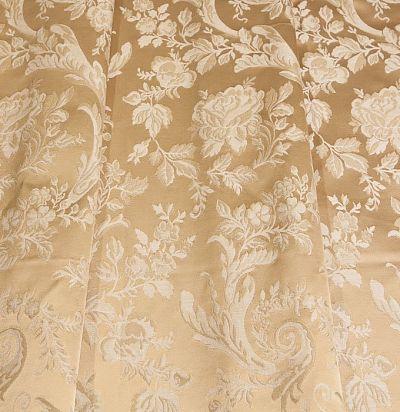 шелковая ткань светлого оттенка Lago 6218-712/gg/414 Ampir Decor