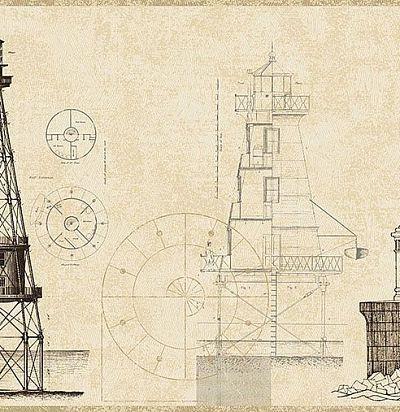 Бежевый бордюр с маяками 343003 Eijffinger