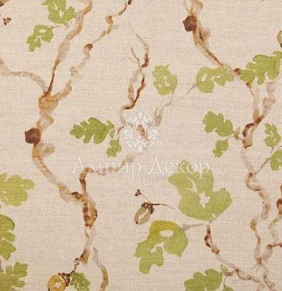 портьерная английская ткань Trailing Oak Linen Voyage Decoration