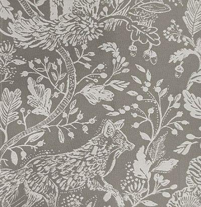 ткань с лесными животными Cademuir Clay Voyage Decoration