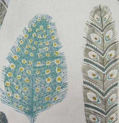 Лен из Англии Simba Print Peacock Voyage Decoration