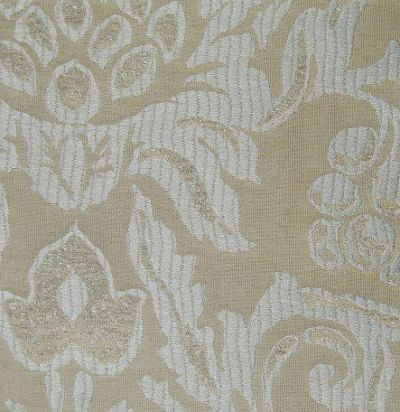 ткань из хлопка серого оттенка Amapola Silver Voyage Decoration
