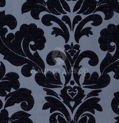 английская ткань дамаск Lucilla Indigo Voyage Decoration