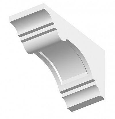 Кронштейн из полиуретана для фасадного декора TF05 ORAC DECOR