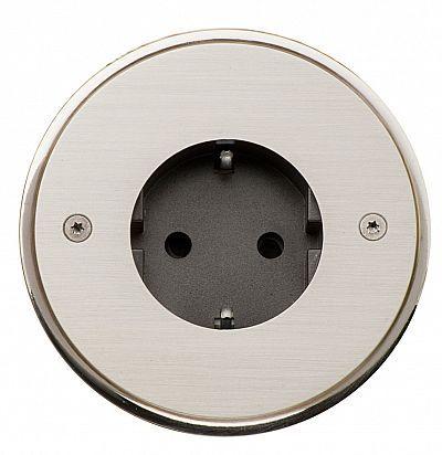 Sphere 84x84 мм Anthracite  Латунная розетка L'artisan