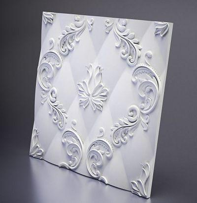 М-0038 3D  Marseille Дизайнерская панель ARTPOLE