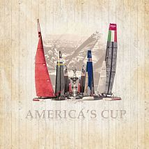 Фото: Панно KT Exclusive Stars&Stripes 2800128 America's cup- Ампир Декор