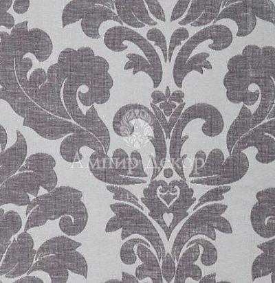 английская ткань дамаск Lucilla Silver Voyage Decoration