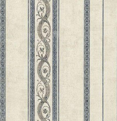 обои с синими полосками CD002562 Chelsea Decor Wallpapers