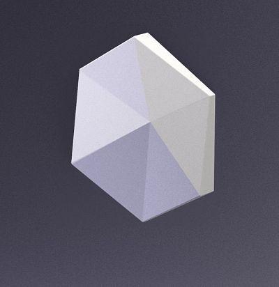 E-0014 3D  Cube-Ex2 Дизайнерская панель ARTPOLE