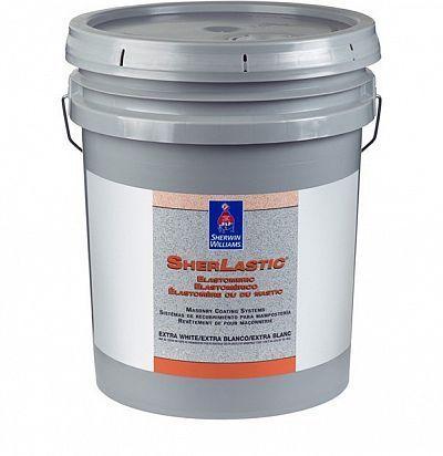 Резиновая фасадная краска SherLastic Elastomeric 19л