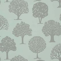 Фото: Обои Thibaut Graphic Resource T35108 Russell Square Linen on Aqua- Ампир Декор