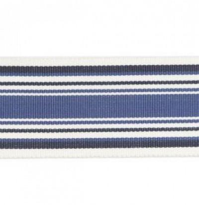 PT85024-2 Tango Braid Indigo  Узорчатая ткань GP&JBaker