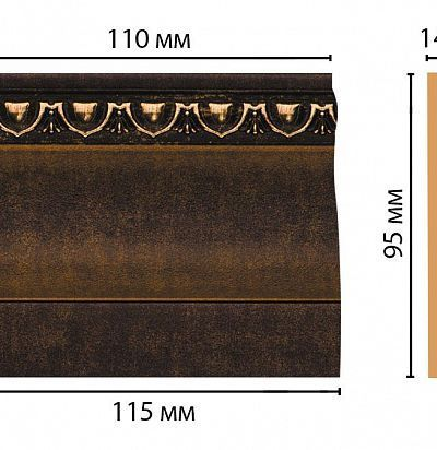 Цветная лепнина D204-56 Decomaster
