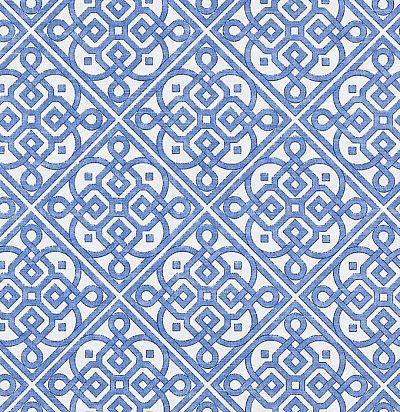 ткань из натурального хлопка с ярким узором 42443/53 Duralee