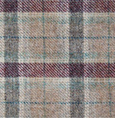 ткань шерстяная из англии Arrochar Heather Voyage Decoration