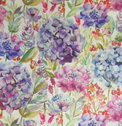 Хлопок из Англии Hydrangea Oil Cloth Voyage Decoration