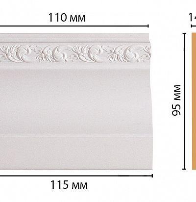 Цветная лепнина D204-115 Decomaster