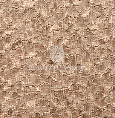 однотонный шелк с фактурой под рептилию Escama Champagne Voyage Decoration