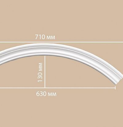 Лепнина из полиуретана 897164-90/32 Decomaster