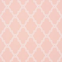 Фото: Обои Thibaut Graphic Resource T35117 Stanbury Trellis Pink- Ампир Декор