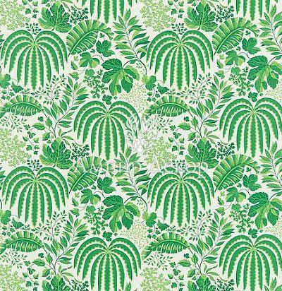 Ткань с листьями 221312 Sanderson