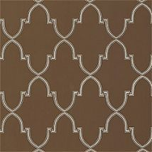 Фото: Обои Thibaut Filigree T2030 Julian Metallic on Brown- Ампир Декор