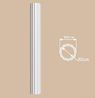 Лепнина из полиуретана 90030/1 Decomaster