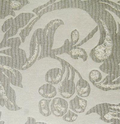 ткань для портьер с растительным узором Amapola Slate Voyage Decoration