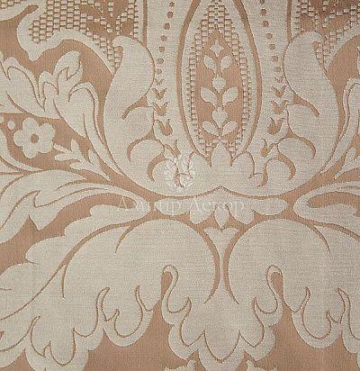 Жаккардовая ткань с классическим рисунком дамаск 5809-806/764 Aleria Ampir Decor