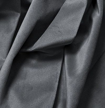 Бархатная ткань без узора 3953-24 F Volland