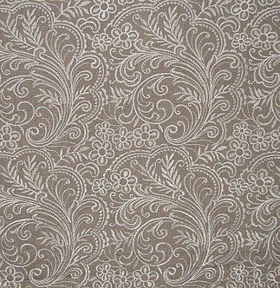ткань из льна с вышитыми цветами Elwood Peat Voyage Decoration